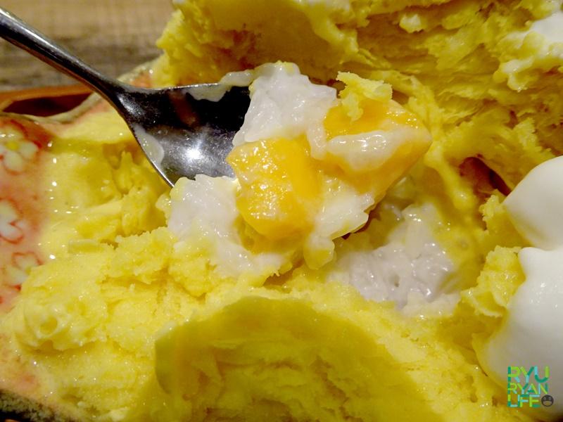 Mango Sticky Rice kakigōri