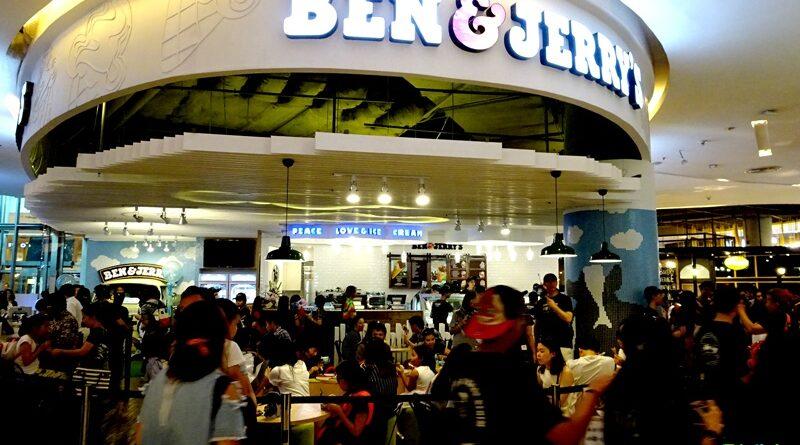 Ben & Jerry's สาขาแรกในประเทศไทย