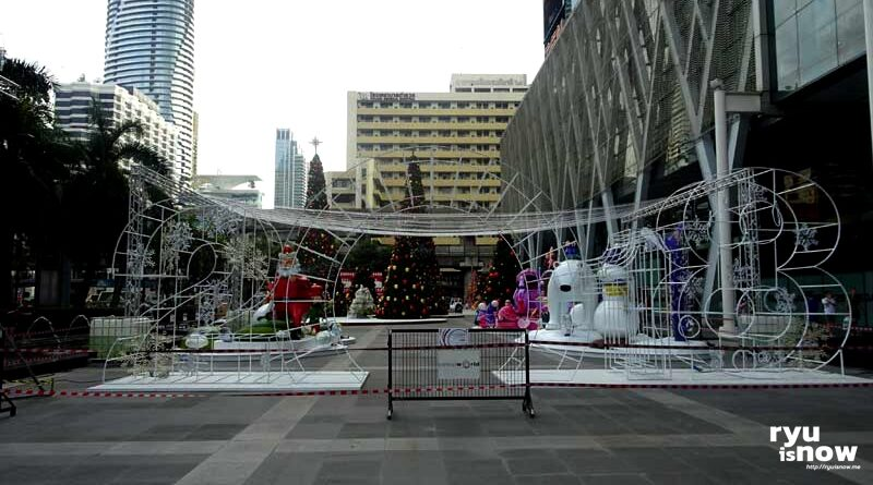 ต้นคริสต์มาส หน้า Central World 2017