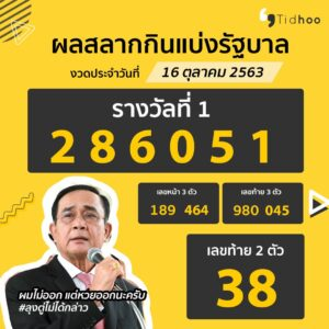 Idea Content Lotto PM Prayut